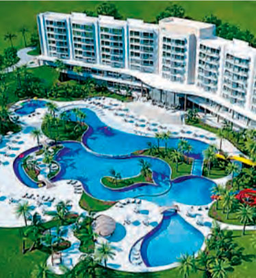 Hotéis de luxo da RCI no Brasil: o parque aquático Tayayá
