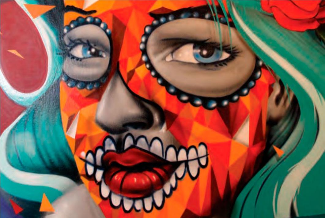 Criação do artista holandês Karski para a Bienal do Grafite do MuBe, realizada este ano em São Paulo.